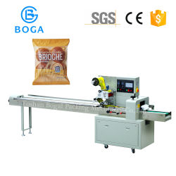 Qualitäts-halbautomatisches Brot-horizontale Verpackungsmaschine
