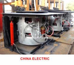 スチールシェル油圧チルト中周波インダクション溶解装置