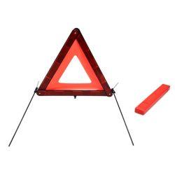 Triángulo Reflectante de Advertencia con E-MARK