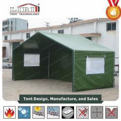 Tente militaire mobile tente de réfugiés de la maison familiale Emergencyfor 1-10 personnes