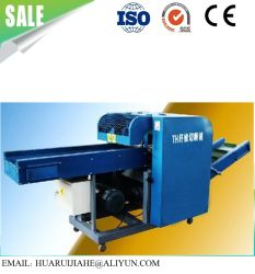Tecidos de resíduos de fibras químicas máquina de corte roupas antigas máquinas de corte em acrílico de corte/ fibra de poliéster Garnetting Máquina máquina de corte de Resíduos têxteis