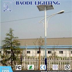 Nuevo estilo 6-10m polo de la Energía Solar de la luz de la calle 10W 20W 30W 50W 100W LED de luz solar calle Outdoor
