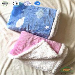 Очень мягкая зима теплый детский флис бросать одеяло для новорожденных
