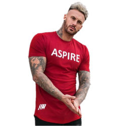 High Quality Custom Logo men Slim Fit Design Own T Shirts