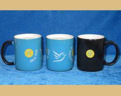Förderndes Change Color Mug mit Customer Design