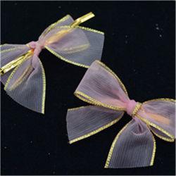 卸し売りサテンのリボンの弓またはブラの弓か衣服の弓