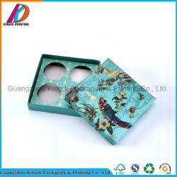 Großhandelspapiergeschenk-Hut-Kasten für Mooncake/Tee mit Papierteiler