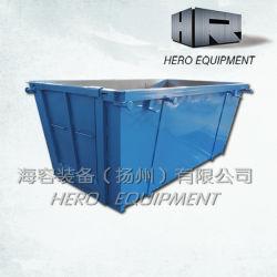Zeilensprung/Rubbish/Steel/Dust Bin mit Door