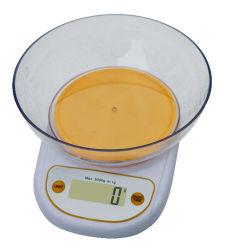 昇進の台所食糧スケール(HK122BB-Y)の重量を量るボールデジタル