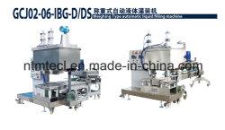 Máquina automática de enchimento e tapagem de líquido de pesagem para pintura, revestimento, cola, tinta