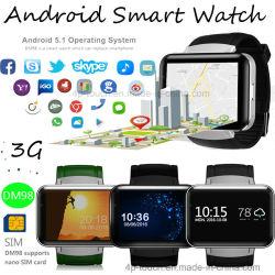 "3G 2.2 ""スクリーン(DM98)の人間の特徴をもつ移動式腕時計の電話"