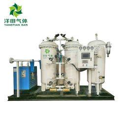 100Nm3/Hr Psa generador de nitrógeno para la industria química, la pureza del 99,9%