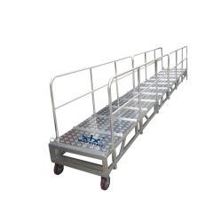Aangepaste het Inschepen van de Doorgang van het Aluminium Ladder