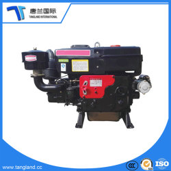 Os motores diesel pequenos de 4 Tempos para venda/único cilindro Motor Diesel Mini Trator/Fonte de perfilhos/pequeno barco/Conjunto do Gerador