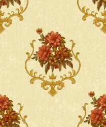 فينيل ورق جدار مسيكة زهرة جميل لأنّ [إينتريور دكرأيشن]