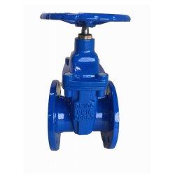 La fonte ductile DIN3352 F4 F5 Non à la hausse de la tige Vanne assis résilient (PN16)