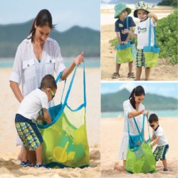 أطفال رمل شاطئ شبكة حق يكيّس تخزين [سوندريس] حقوق