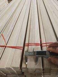 Latten hölzerne des Vorhang-Befestigungs-Fabrik-direkte angegebene Qualität feste Paulownia Holz-50mm