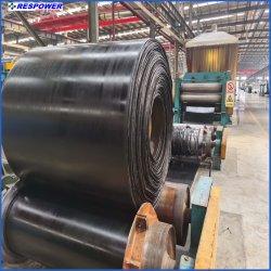 Pvg de PVC/tejido sólido cinta transportadora con precios baratos