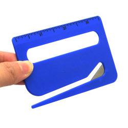 다중 기능 가늠자 돋보기를 가진 능률적인 편지 오프너 봉투 Slitter