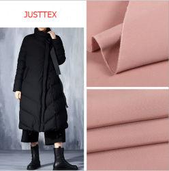 Memória de imitação Downproof tecido jaqueta de poliéster