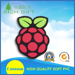 卸し売り安い習慣PVCゴム製エポキシの国の販売のためのツーリストの記念品3D冷却装置磁石