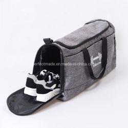 حقيبة رياضية رياضية حقيبة حاجزة للسفر مع حذاء جيب رطب الحجرة
