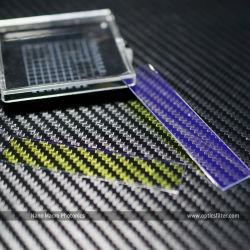광학적인 850nm IR는 긴 통행 필터 렌즈를 필터한다