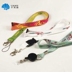 Kundenspezifisches preiswertes förderndes Geschenk sublimierte Abzuglinie mit Zug-Bandspule