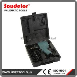 Super Duty de la herramienta de impacto neumática Tornillo de aire 1/2 Kit de llave de UI-1006K