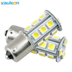 1156 Ba BA15D15s bombilla LED blanco cálido para RV Plafones Marina