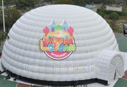 Лучшее качество водонепроницаемый гигантские надувные потолочного освещения Палатка для продажи