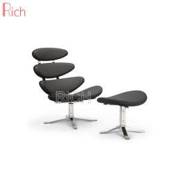 يعيش غرفة أثاث لازم كلاسيكيّة مصمّم [لوونج شير] راحة إكليل كرسي تثبيت