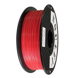 1.75mm 1kg PETGのフィラメントの適用範囲が広いプラスチック3D印刷カラーロールPETG 3Dプリンターフィラメント