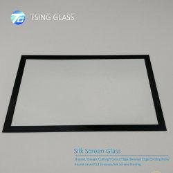 Gehard glas of drie kleuren /patroon/Decoratie zijde scherm bedrukt met Gepolijste randen