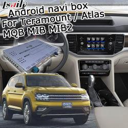 Système de navigation GPS Lsailt Android pour VW Mqb Teramount Atlas mib MIB2 6.5 8 9.2 pouces écran. Yandex Waze Carplay Youtube en option
