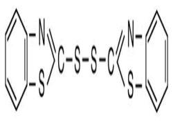 Disulfure Dibenzothiazole ; caoutchouc Mbts d'accélérateur (DM) ; CAS No : 120-78-5