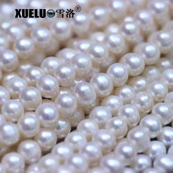 8-9mm redondo Ronda Papa AAA Proveedor perla natural verdadero culto auténtico hilos de agua dulce Pearl