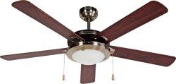 """52"""" de CA moderno ventilador Ventilador de techo con 5 hojas"""