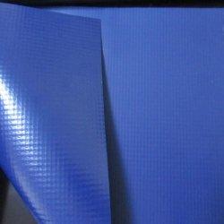 PVC 방수포 PVC는 직물 천막 트럭 덮개 막 구조 PVC에 의하여 입힌 방수포를 입혔다