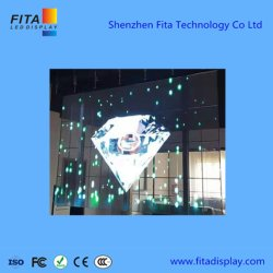 Windowsのビデオ壁のための透過ガラススクリーンのLED表示