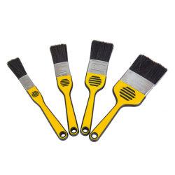 Ferramentas Manuais de cerdas de escovas de Pintura/cabos de filamentos sintéticos Broxa com pega de madeira e plástico