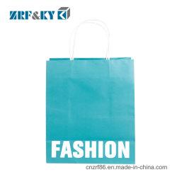 Настраиваемый логотип печати фантазии крафт-бумаги или сумки подарок цвета подушки безопасности