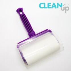 A alavanca multifuncional de Magic cola adesiva Pano de limpeza lavável enrolador para remover pêlos de animais
