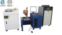 Großbritannien-hohe Leistungsfähigkeits-Impuls-Laser-weichlötendes Maschinen-Edelstahl-Schweißen