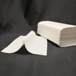 Reciclados descartáveis grossista 2 ply Livro V-Dobre uma toalha de papel