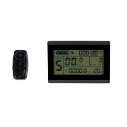 LEIDENE van de Grootte van Greenpedel Kleine LCD van de Vertoning Vertoning voor de Elektrische Vertoning van de Fiets van de Fiets 24V 36V 48V E