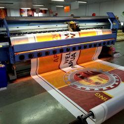 屈曲の表示旗を広告するPVCビニールの屋外ポスターカスタム印刷
