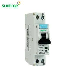 Suntree drnl-32 Brekende Capaciteit RCBO de Enige van Pool (1P+N) 6ka