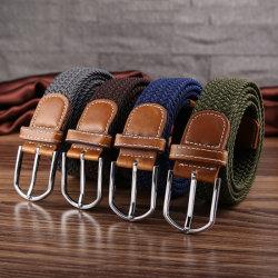 Nuove Cinture Elasticizzate Moda Uomo, Cintura Elastica, Cintura Intrecciata